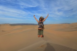 Nothing like feeling totally alive and on top of the world as in the Gobi Desert, Mongolia