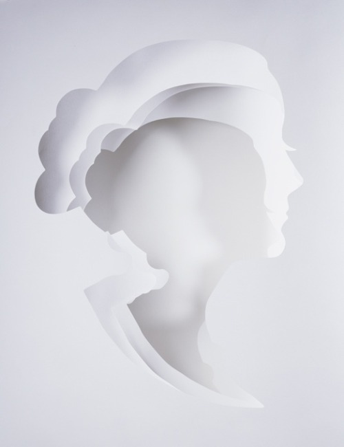 Multilayered Paper Silhouettes by London-based photographer Dan Tobin Smith, in collaboration with set designer and art director Rachel Thomas.