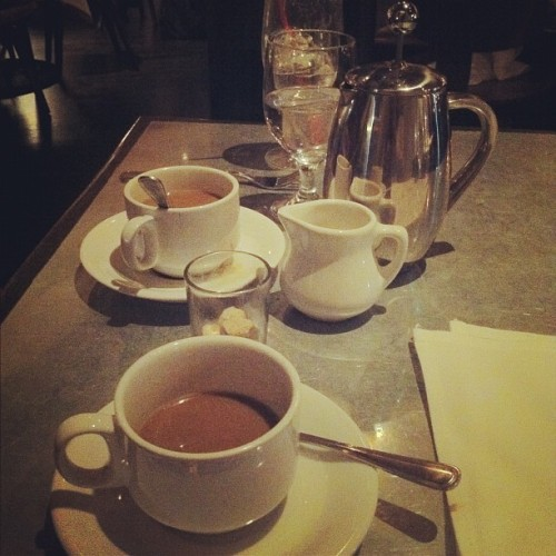 French press for two ☕☕ #mybirthday  #coffee (Taken with instagram)