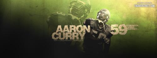 Aaron Curry Seattle Seahawks 1