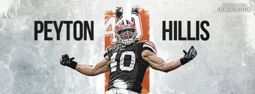 Peyton Hillis Cleveland Browns 1 Facebook Cover