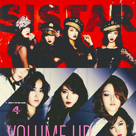 most anticipated comebacks - sistar and 4minute