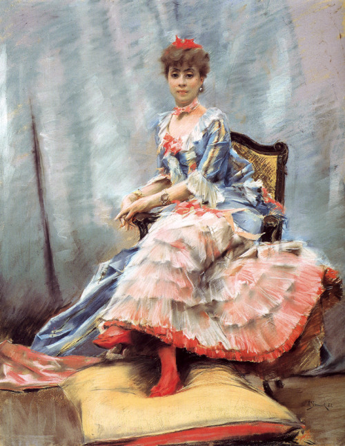Portrait of Laure Hayman Julius LeBlanc Stewart 1882