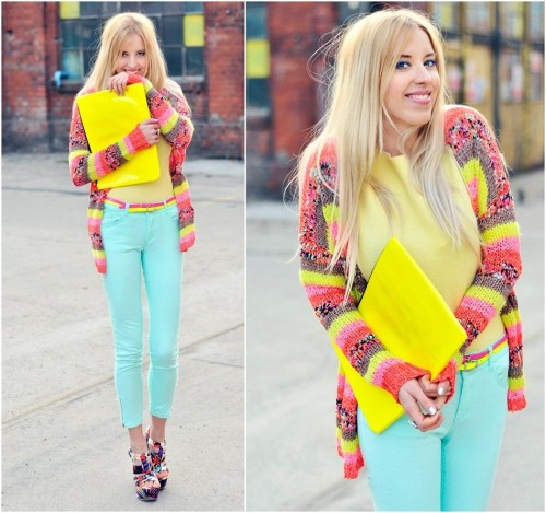 lookbookdotnu:  MINT YELLOW PINK (by Meri Wild ♥)