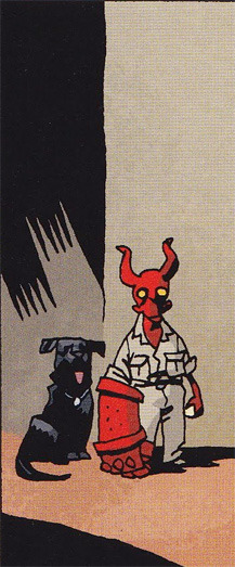 re-reading BPRD 1947 constantly distracted by how cute baby hellboy is weh