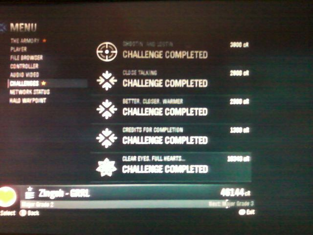 tehzee:  COMPLETE. ALL THE CHALLENGES. >8|   i don't mean to brag, i don't mean to boast~