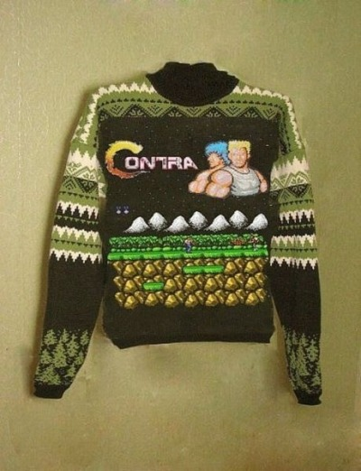 Gaming WTF: Knitted Contra Jumper