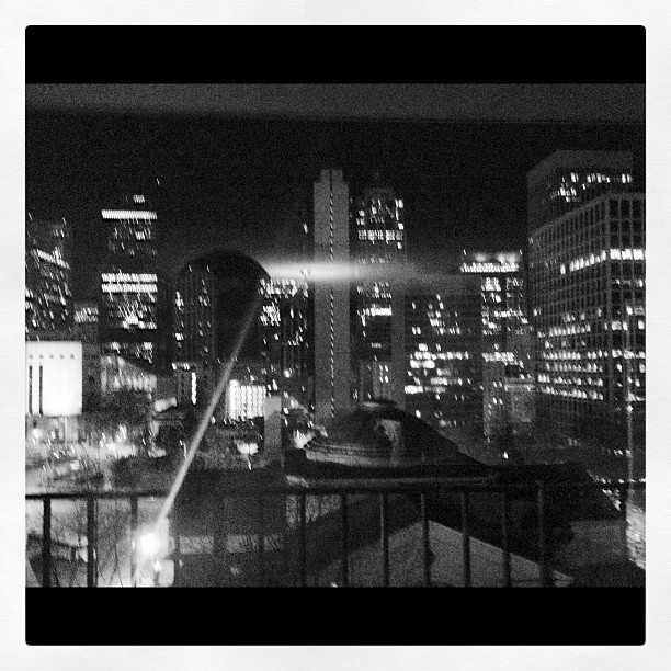 I wish I could fall asleep to this view every night! (Taken with instagram)