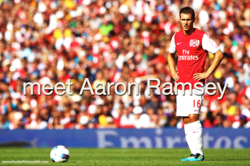 meet Aaron Ramsey