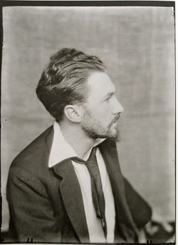 Man Ray - Ezra Pound, Paris, 1923