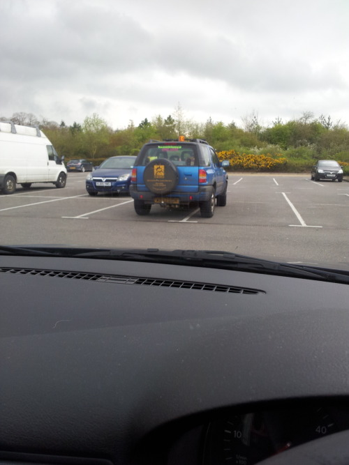"""A cunty car, Cuntily parked, Bought from a cunty garage, Advertising a cunty website (in a cunty font) Yes folks, it's cuntageddon."" The result was always going to be cuntish, by the sounds of the ingredients."