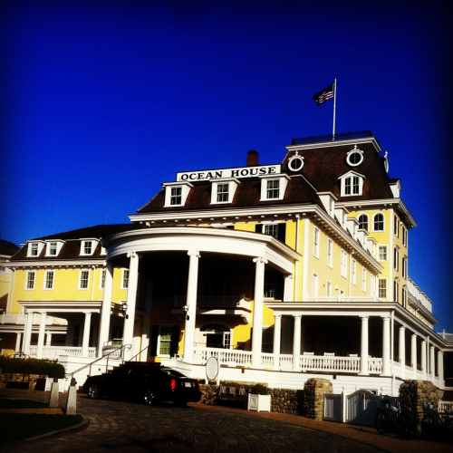 The beautiful Ocean House…the last of the grand Victorian hotels. Perched high on the bluffs of Watch Hill, Rhode Island.