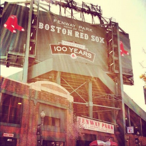 Happiness #baseball #redsox #sports #mlb #boston (Taken with instagram)