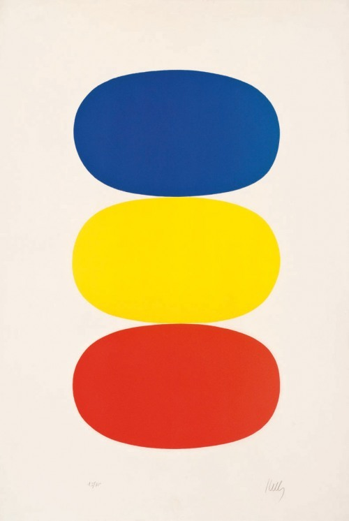 julienfoulatier:  Painting by Ellsworth Kelly.