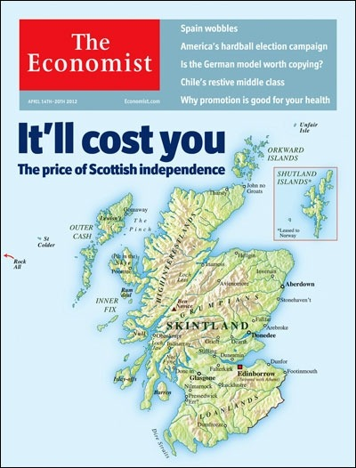 theeconomist:  This week's cover: our cover leader in Britain argues that Scottish independence would come at a high price.