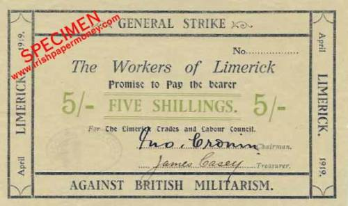 Remembering the Limerick Soviet established today in 1919. Liam Cahill's book The Forgotten Revolution free to download HERE