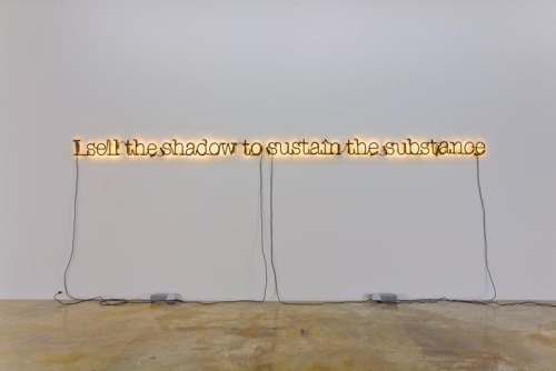 isothermal:  By Glenn Ligon