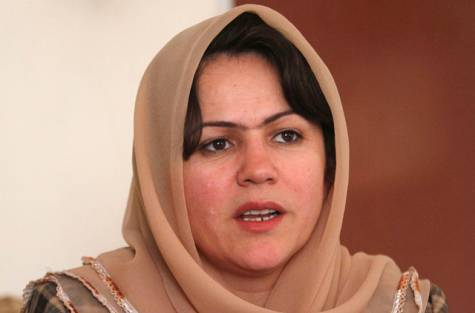 MP Fawzia Koofi has announced her intention to run in the 2014 Afghanistan Presidential election.