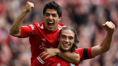 Andy Carroll strikes another late winner to send Liverpool into the FA Cup final