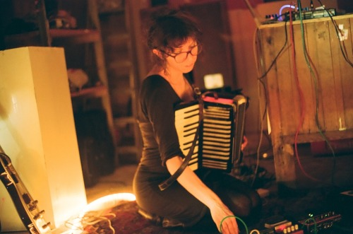A pic of me playing accordion, by my very talented friend Tanya Mar.