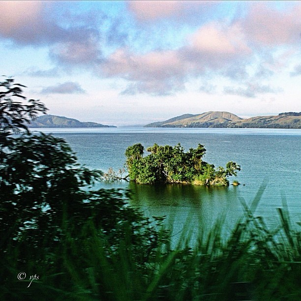 Small island part of Sentani   #nature #island #travel #photo #papua #indonesia #lake_IND  (Taken with instagram)