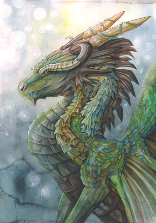 home-of-amazons:  River Dragon by dawndelver