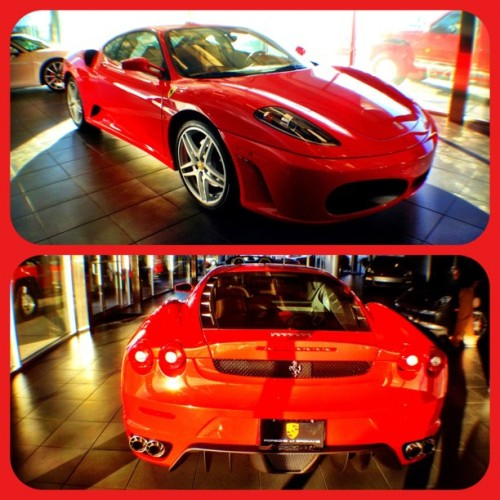 Good morning beautiful. 😘 #Ferrari #F430 (Taken with Instagram at Porsche of Spokane)