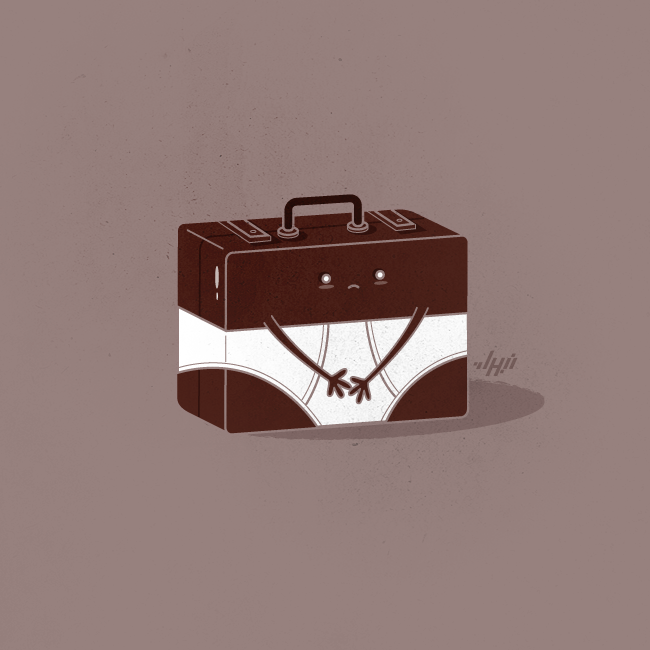 'Brief'-case —- Nabhan Abdullatif Gallery , Facebook , Twitter , Tumblr