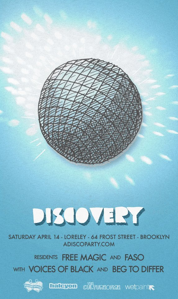 Tonight Beg to Differ get busy in Brooklyn with Voices of Black and the Discovery gang. #stoked
