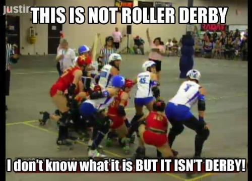 Haters gunna hate, skaters gunna skate…  We <3 scrum starts, and being a meme.     EDIT from Kitty: just for the record, I actually hate Scrum starts!!!!!!!