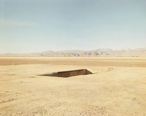 museumuesum:  Richard Misrach Atomic Bomb Loading Pit, Wendover Air Force Base, Utah 1989 c-print