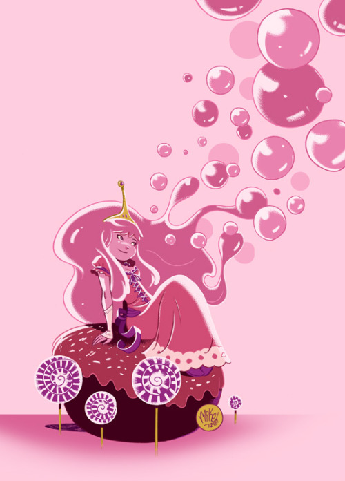 Princess Bubblegum by *mikemaihack