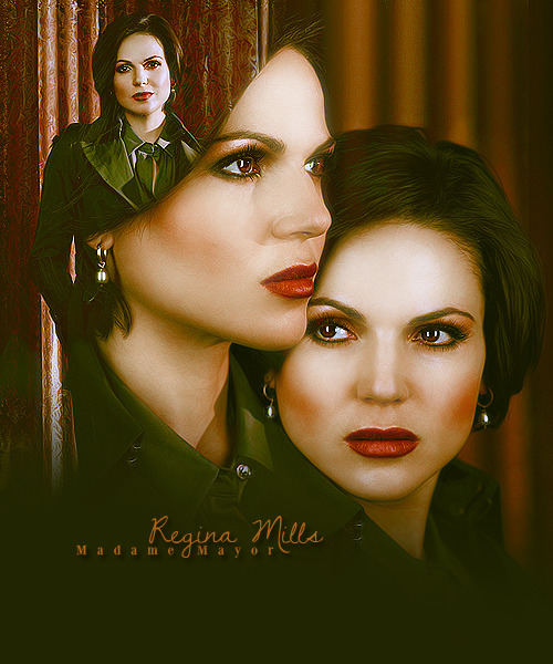 asked by anon:- Regina Mills or Evil Queen?