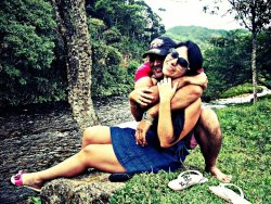 Eu e minha princesa.#Brazil #HDR #ME #love #photography #natureza(from @f_paschoeto on Streamzoo)