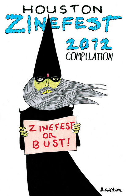 Zinefest Comp Cover by Gabriel Dieter on Flickr.