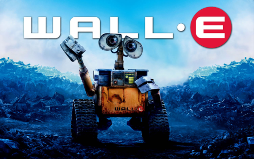 'right now'  watching WALL-E