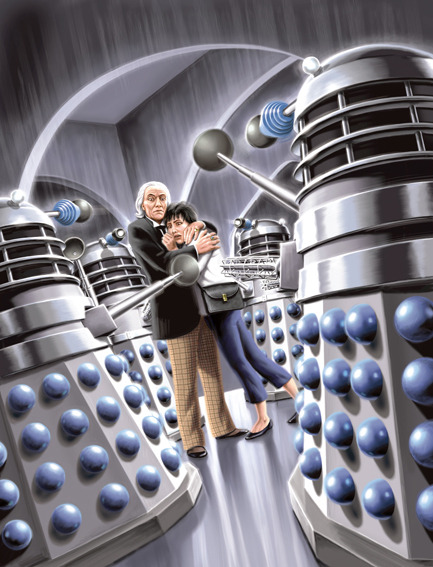 "tdpossum:  ""The Daleks"" by Tom Connell"