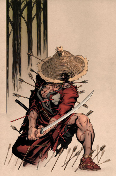 iamthedeadpool:  bh78:  5 ronin. Deadpool  This whole thing should have been so much better