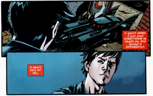 """It wasn't hard AT ALL."" - Jason Todd (Red Hood: The Lost Days #2)"