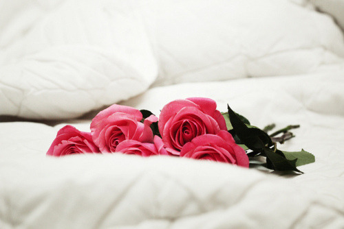 earlgrayteapudding:  It would be quite lovely to find roses on my bed.