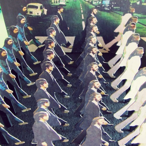 abbeyroadrage:  Collage/Sculpture by khourii.