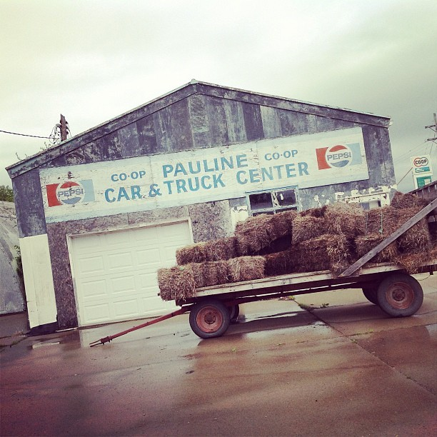 Pauline, KS CO-OP (Taken with instagram)