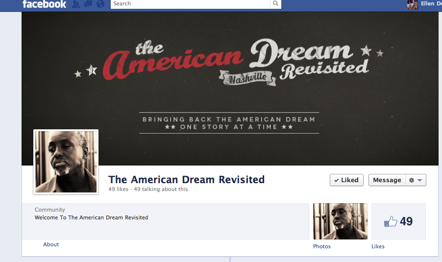 Everyone should check out this documentary! The American Dream Revisited.  An amazing crew and amazing stories. Spread the word. http://www.facebook.com/TheAmericanDreamRevisited
