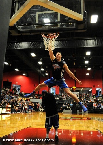 Miles Plumlee soared during an All-Star event back near his home in Indiana View more Duke Basketball on WhoSay