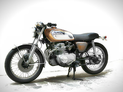 Luke Inazuma wants to turn his newly purchased CB550 into a Cafe Racer. What do you think of his concept drawings? Like us on FB
