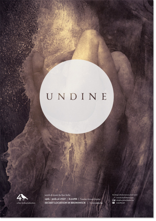 Four Larks' Undine received two 2012 GRA Awards, for sound/music and visual design.