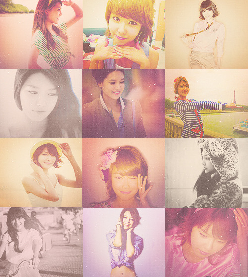 "Flawless People : Choi Sooyoung (requested by hunkster)  ""I think I just have to focus on my work. I want people to say, ""my hopes are up, whenever I listen to your music' ""."