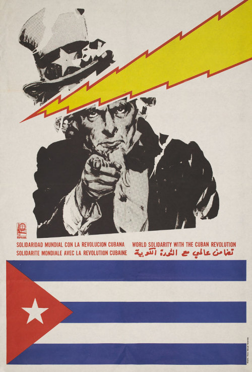 World solidarity with the Cuban Revolution.