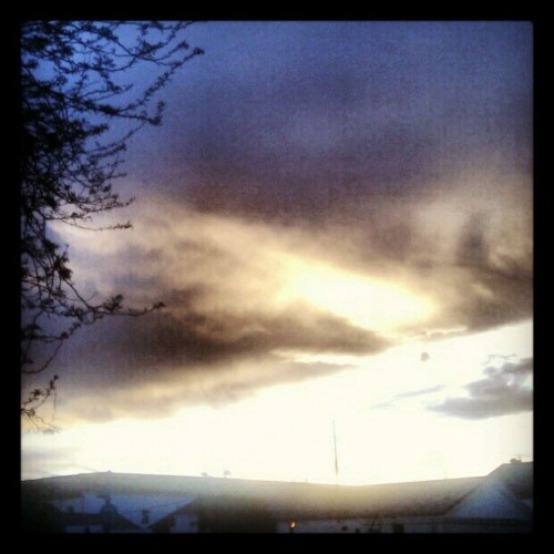 Clouds over VLC (Tomada con instagram)