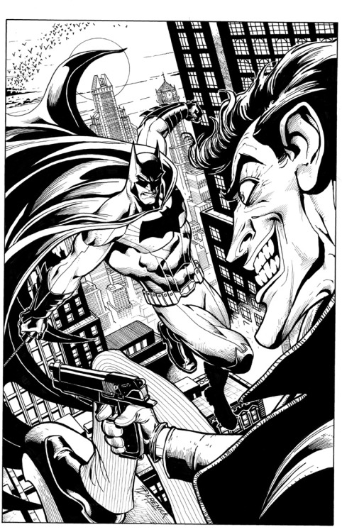 The Batman & Joker by Tom Derenick
